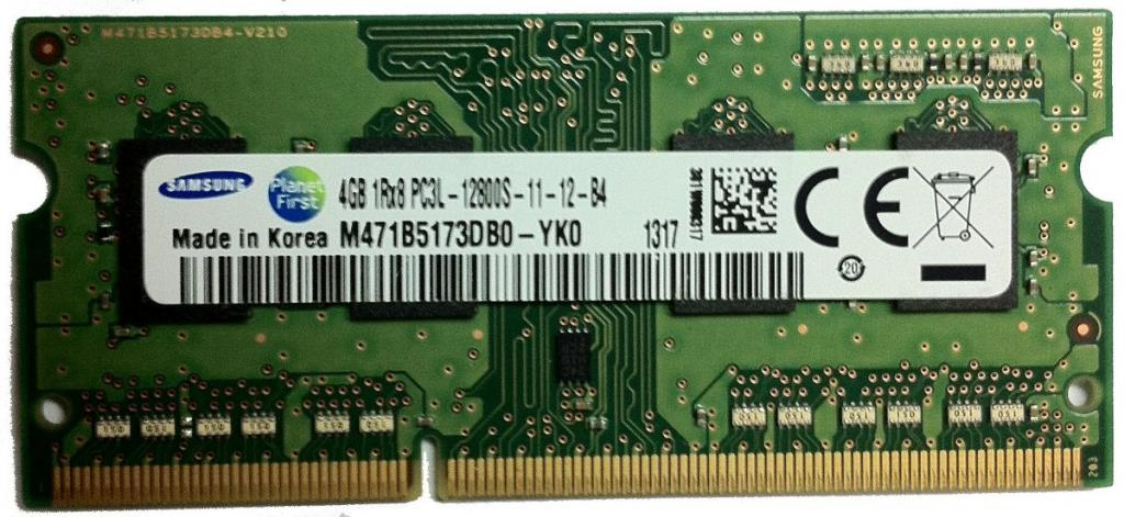 DDR3 4GB BUSS 1333/1600