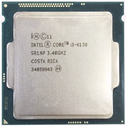 Cpu- I3 4130+ Fan Zin