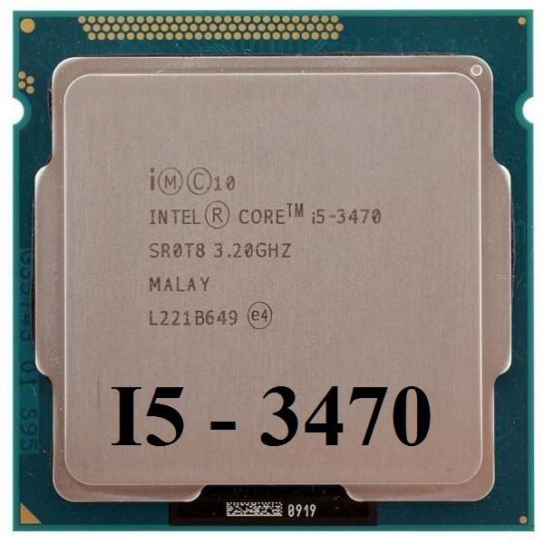 Cpu- i5 3470+ Fan Zin